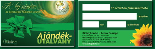 Hair clinic voucher